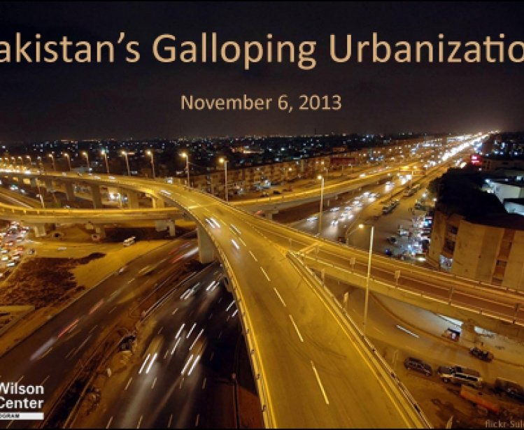 Pakistan's Galloping Urbanization