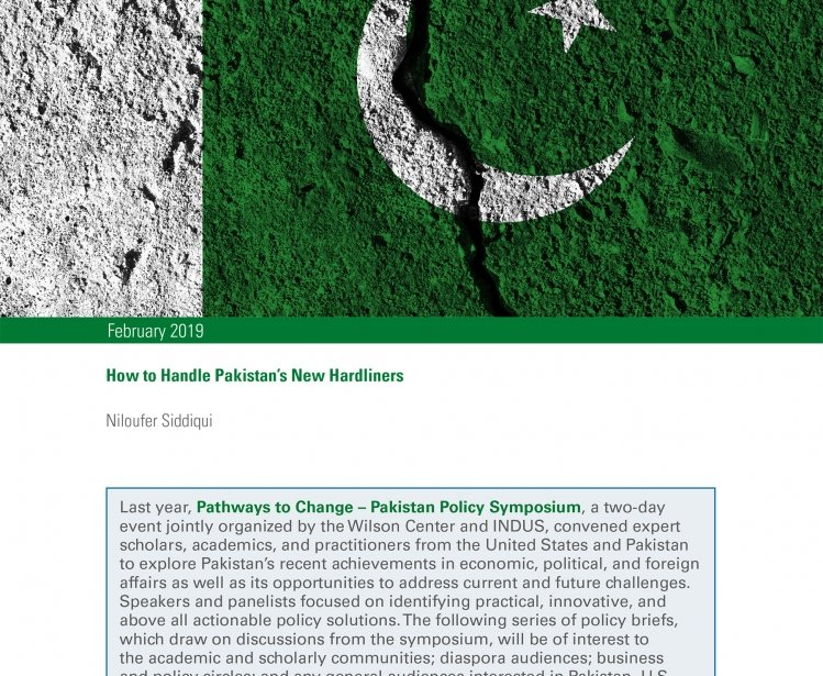 How to Handle Pakistan's New Hardliners