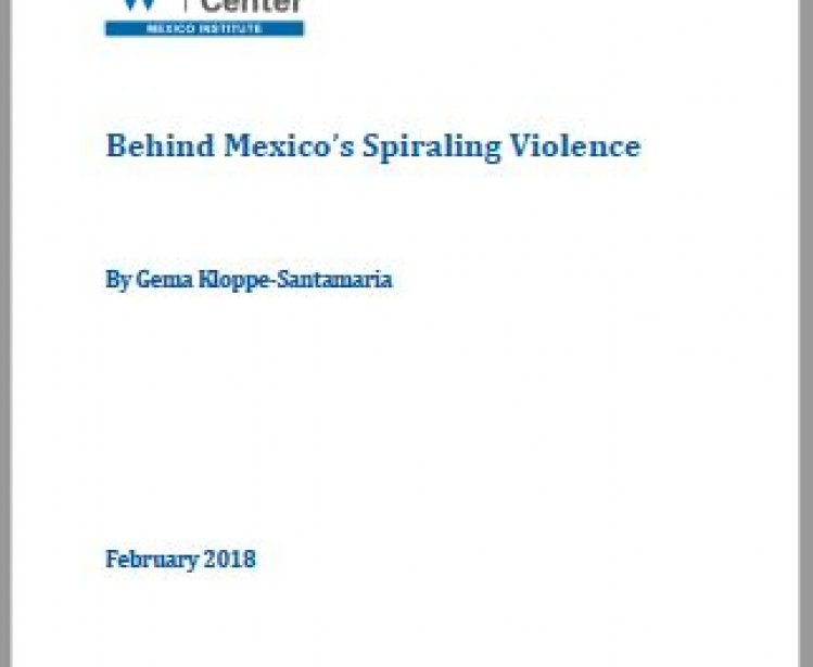 Behind Mexico's Spiraling Violence