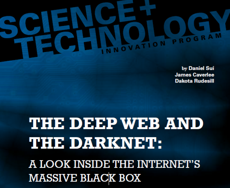 The Deep Web and the Darknet: A Look Inside the Internet's Massive Black Box