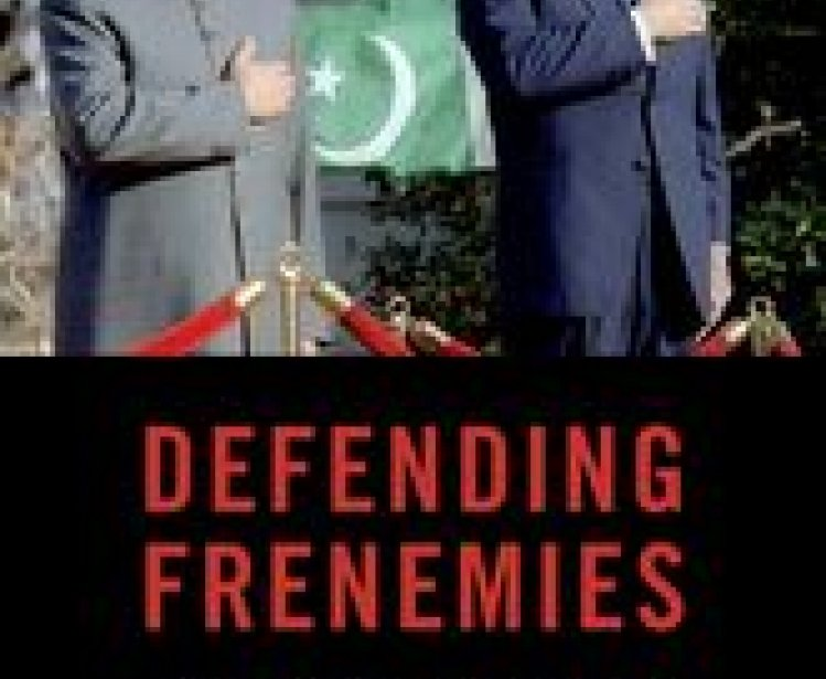 Defending Frenemies Book Cover