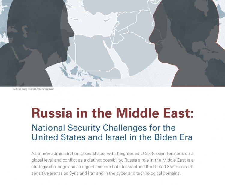 Cover of Russia Challenge in Middle East