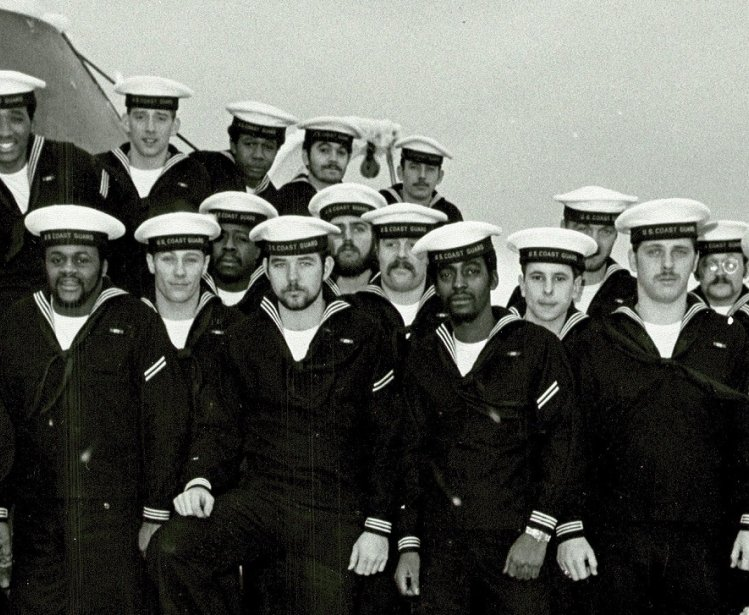 US Coast Guard Cutter Southwind crew