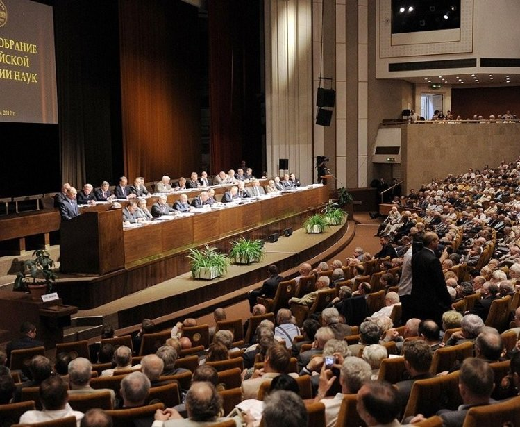 General meeting of the Russian Academy of Sciences, 2012