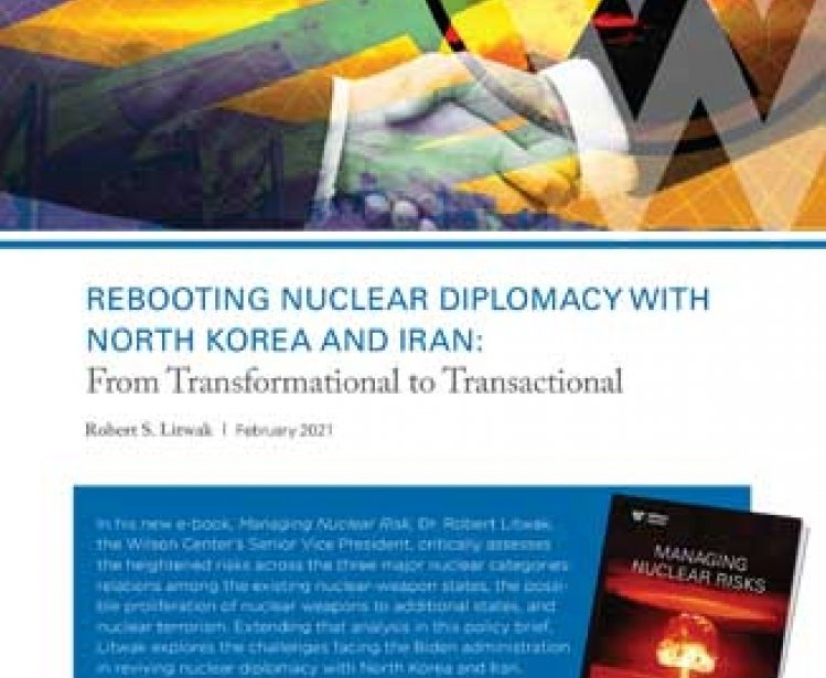 Image Rebooting Nuclear Diplomacy Cover