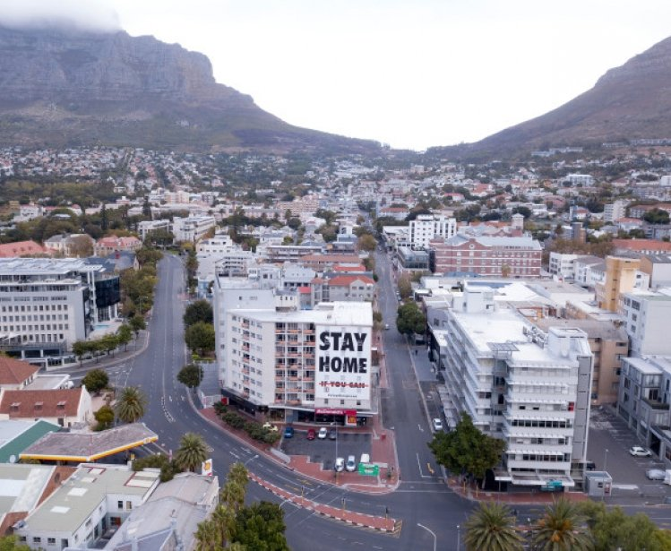 Image - Empty streets in Cape Town during the Coronavirus lockdown