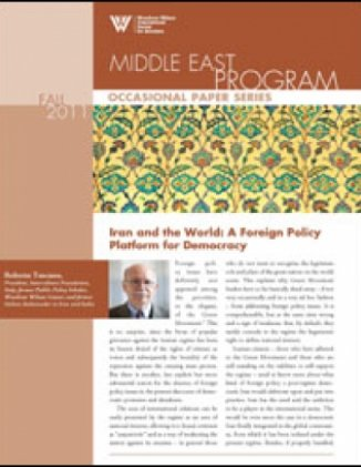 Iran and the World: A Foreign Policy Platform for Democracy