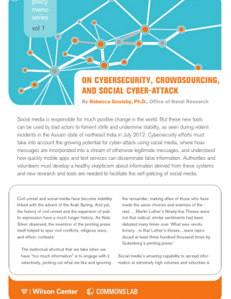 On Cybersecurity, Crowdsourcing, and Social Cyber-Attack