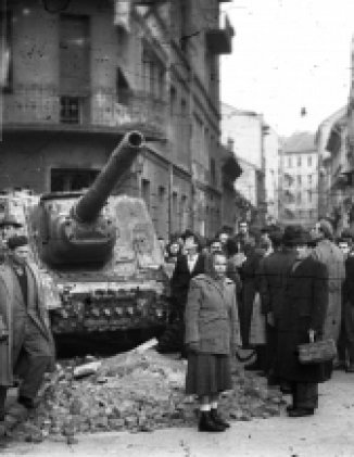 Eyewitness to the 1956 Hungarian Revolution