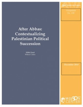 After Abbas: Contextualizing Palestinian Political Succession