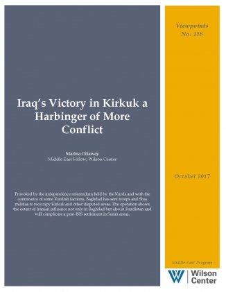 Iraq's Victory in Kirkuk a Harbinger of More Conflict