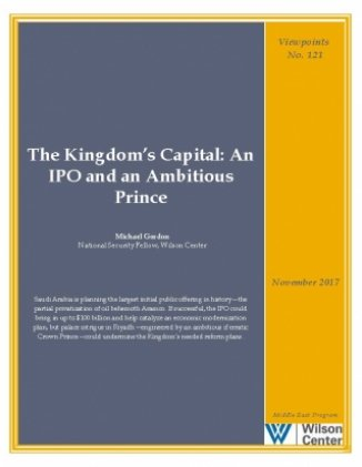 The Kingdom's Capital: An IPO and an Ambitious Prince