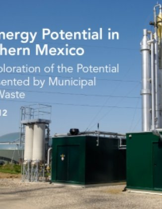 Bioenergy Potential in Northern Mexico