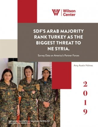 SDF's Arab Majority Rank Turkey as the Biggest Threat to NE Syria: Survey Data on America's Partner Forces