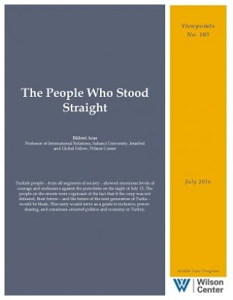 The People Who Stood Straight