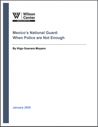 Cover Mexico National Guard