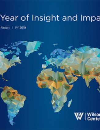 FY2019 Wilson Center Annual Report