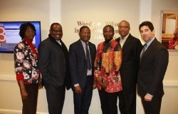 Africa Program Director Meets with the African Development Bank's African Development Institute