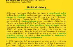 Henrique Meirelles - Candidate Bio