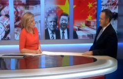 Robert Daly on U.S.-China Talks and Tensions (BBC World News)