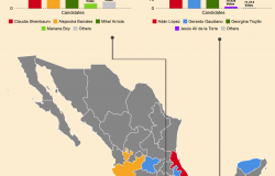 Infographic   2018 Mexican Gubernatorial Election Results