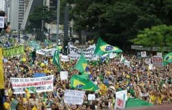 Protests in Sao Paulo, March 16 2015