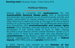 Marina Silva - Candidate Bio