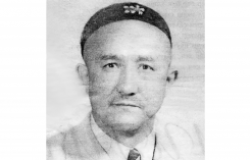 Uyghur intellectual Abdurehim Äysa (1913-58), driven to suicide during the campaign against local nationalism. Source: Radio Free Asia.
