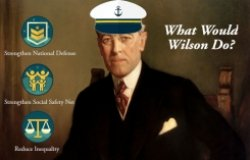 How Would Woodrow Wilson Captain the Fiscal Ship