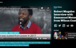 SVNP Scholar Dr. Matambo Joins TRT World to Discuss the Death of Zimbabwe's Former President Robert Mugabe