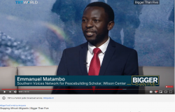 Is externalizing border control to Africa the way forward? SVNP Scholar Dr. Matambo Explains in this Interview with TRT World