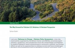 The Way Forward for Pakistan-U.S. Relations: A Pakistani Perspective