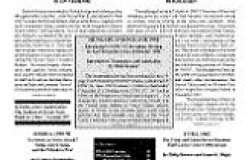 Bulletin No. 5 -- Spring 1995