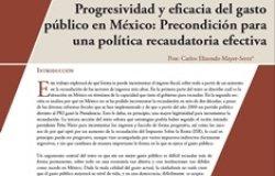 Progresividad y eficacia del gasto público en México: Precondición para una política recaudatoria efectiva