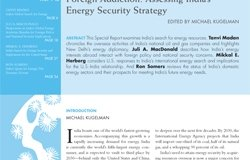 Foreign Addiction: Assessing India's Energy Security Strategy