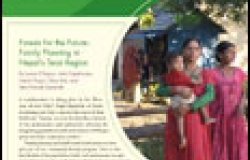 Issue 18: Forests for the Future: Family Planning in Nepal's Terai Region