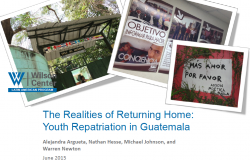 The Realities of Returning Home: Youth Repatriation in Guatemala
