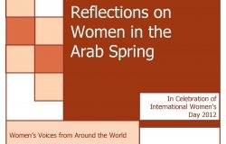 Reflections on Women in the Arab Spring: Women's Voices from Around the World