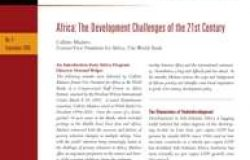 Africa: The Development Challenges of the 21st Century