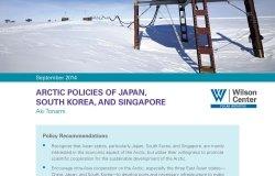 Arctic Policies of Japan, South Korea, and Singapore