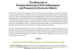 Event Summary: The Aftermath ofPresident Bolsonaro's Visit to Washingtonand Prospects for Economic Reform