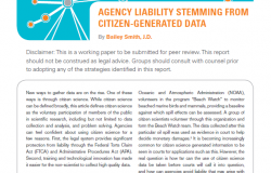 Agency Liability Stemming from Citizen-Generated Data