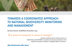 Towards a Coordinated Approach to National Biodiversity Monitoring and Management