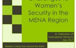 Challenges to Women's Security in the MENA Region