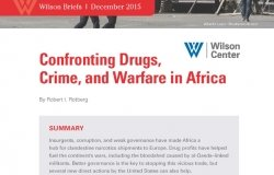 Confronting Drugs, Crime, and Warfare in Africa