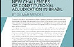 New Challenges of Constitutional Adjudication in Brazil
