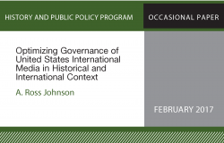Optimizing Governance of US International Media in Historical and International Context
