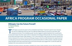 Ethiopia: Can the Future Prevail?