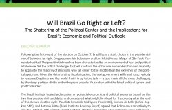 Event Summary: Will Brazil Go Right or Left?