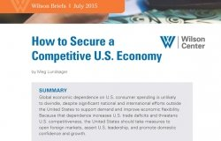 How to Secure a Competitive U.S. Economy
